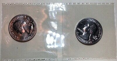 (2 )2019 S Lowell National Park Quarter Massachusetts - BU - From U.S. Mint Roll