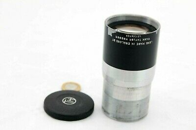 rare RANK TAYLOR HOBSON 80mm F/1.8 HYPERTAL Projection Lens,Bell & Howell