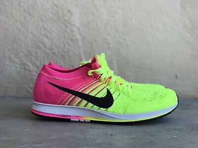 NIKE FLYKNIT STREAK OLYMPIC RIO MULTI COLOR VOLT PINK 835994