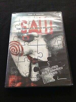 Saw The Complete Movie Collection DVD ~ Widescreen Saw 1 2 3 4 5 6 Final Chapter