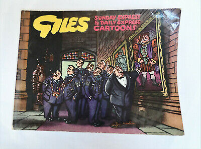 Giles Cartoon Annual Series 8 1954, original, unclipped, good condition