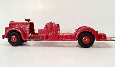 Vintage 1920's 30's Louis Marx Cast Iron Fire Truck