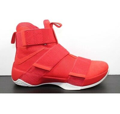 ec8a75ab5a23 UNRELEASED Nike LeBron Soldier 10 SFG Lux University Red 911306-600 James  Sz 14