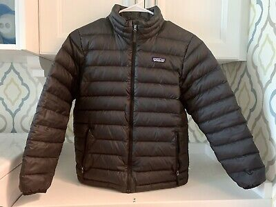 2b0cd2323c97 PATAGONIA BOYS BETTER Sweater Jacket L Large 12 Andes Blue Full Zip ...