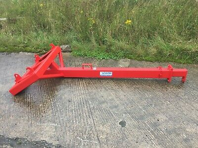 Front Loader JIB Crane (Quicke Euro 8 Chilton LOADER FLY EXTENSION)