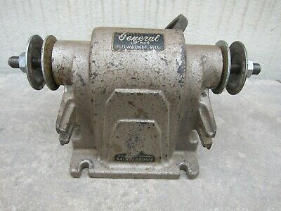 Superb Vintage Craftsman Bench Grinder Belt Driven 84 99 Picclick Gmtry Best Dining Table And Chair Ideas Images Gmtryco