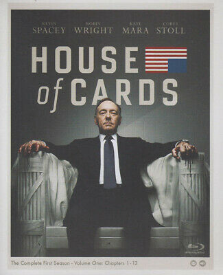 House Of Cards - The Complete (1St) First Season (Blu-Ray) (Boxset) (Blu-Ray)