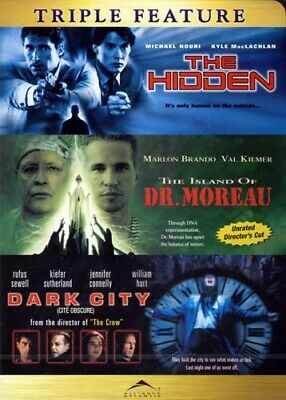 The Hidden / The Island Of Dr. Moreau / Dark City Dvd