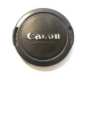 Canon Genuine 58mm Ultrasonic Logo Front Lens Cap Type E