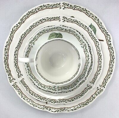 Noritake Royal Orchard 5 Piece Place Setting(s) Fruit 9416 Excellent (Multiple)