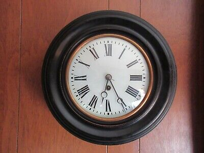 """LENZKIRCH 15 DAY OFFICE CLOCK EARLY 1900""""s"""