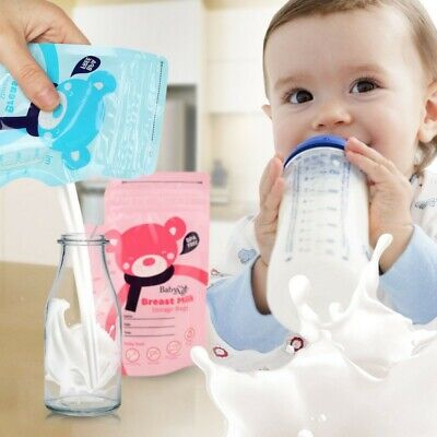 Breast Milk Storage Bags PET/LDPE One-Off Disposable Storage Bags Convenient
