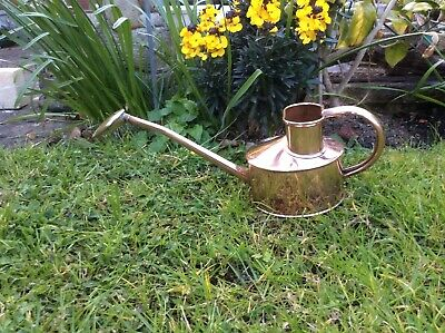 Antique Haws CopperSmall Watering CanWith Brass Rose Fully Stamped