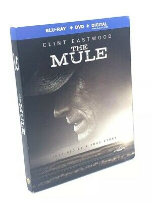 Mule, The (Blu-ray+DVD+Digital, 2019) NEW with Slipcover  Clint Eastwood