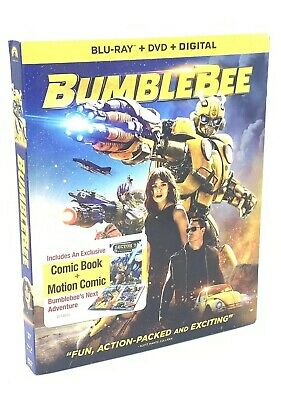 BumbleBee (Blu-ray+DVD+Digital, 2019) NEW with Slipcover  Transformers Series