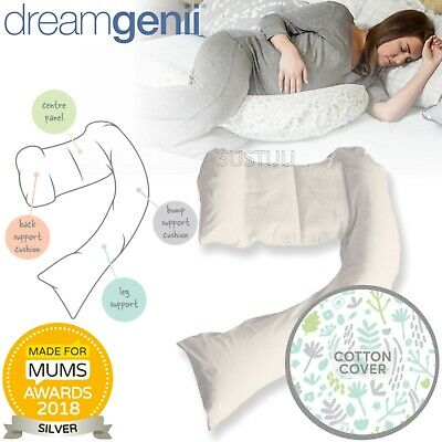**Brand new Dreamgenii Pregnancy Support And Feeding Pillow**