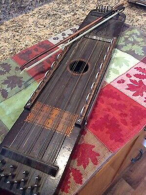 "Antique 1920's ""Ukelin"" Stringed Instrument, Bosstone Co. Boston, Mass.and Music"