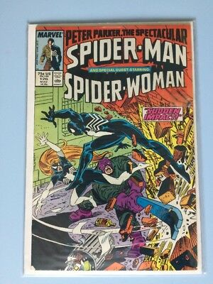 Peter Parker The Spectacular Spider-man 126 Marvel Comics 1987 VF