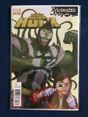 The Totally Awesome Hulk # 17 Venomized Variant Marvel Comics NM 2017