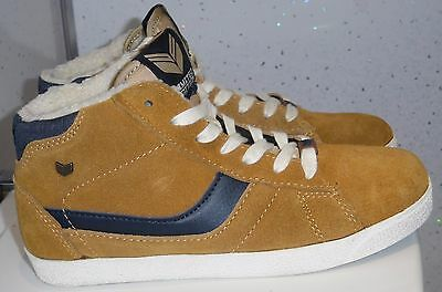 Womens Girls Next Trainers Size Uk 3 Eur 36 Limited Edition Brown Suede Lined