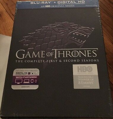 Game of Thrones: Seasons 1 & 2 (Bluray And Digital Copies Included)
