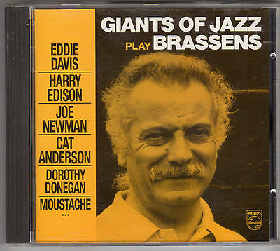 Cd Album Giants Of Jazz Play Georges Brassens 23 Titres