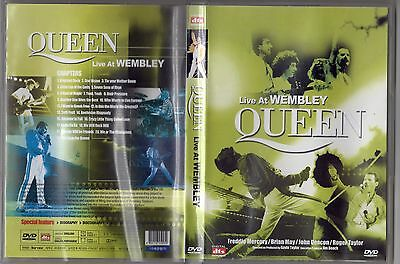 Dvd The Queen Live At Wenbley Pressage Coree
