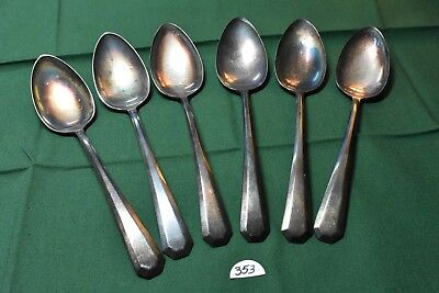 WM Rogers & Sons Pat Apd For Lincoln 6 Tablespoons