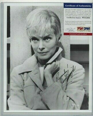 "Janet Leigh Autographed 8x10 Photo Hollywood Film Actress ""Psycho"" PSA COA #2"