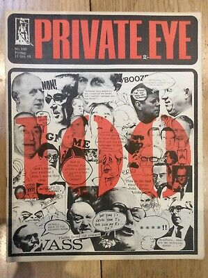 Private Eye No 100 Friday 15 Oct 1965