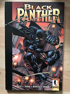 BLACK PANTHER enemy of the state paperback Marvel Comics TPB graphic Priest