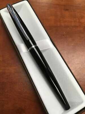 Cross ATX Black Lacquer Rolling Ball Pen