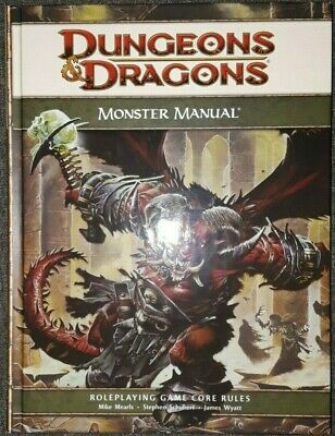 D&d Core Rulebook: Monster Manual