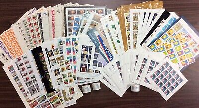 Discount Stamps: $1,078.26 Face Value, Lot Of Mint Sheets, New Condition