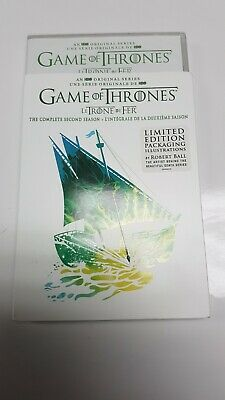 Game of Thrones the complete second season DVD