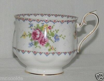 Royal Albert China Footed Coffee Tea Cup Teacup Petite Point NO Saucer England