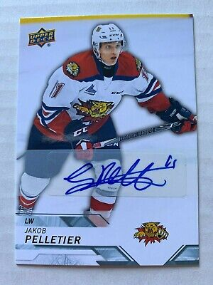 18-19 UPPER DECK CHL Jakob Pelletier AUTO Group B
