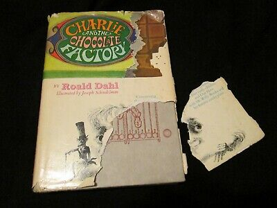 Charlie and The Chocolate Factory Book Club Hardcover Roald Dahl 1973