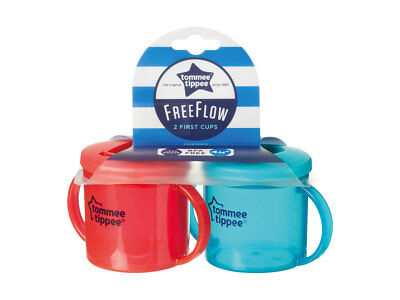 2 x Tommee Tippee Free Flow Cups
