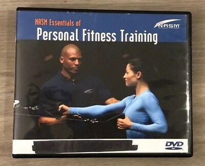 NASM Essentials of Personal Fitness Training 4 Disc DVD Set