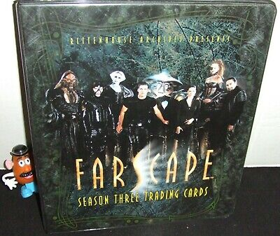 Farscape Season Three Ra 2002 Trading Card Album Binder Only No Promo Or Relic
