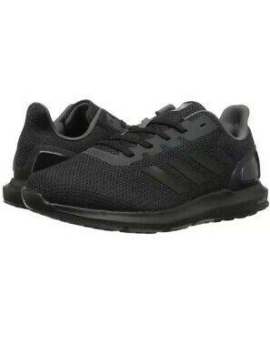 wholesale dealer dcfed b3dad ADIDAS MENS Size 12 Cosmic 2 SL M All Black Grey CQ1711 Knit Running Shoes