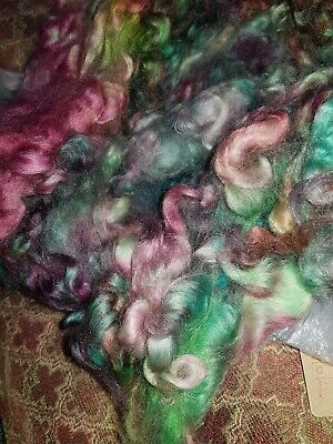 300gr Wool Washed,Handdyed Strong Sheep Fleece Spinning Felting Textiles Craft