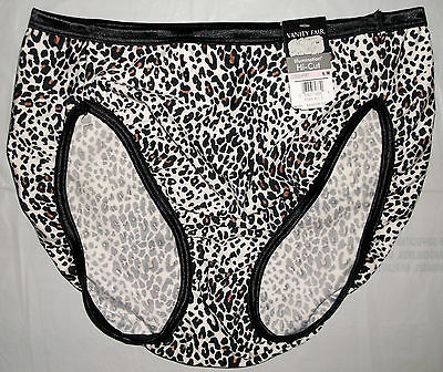 NWT Vanity Fair Illumination 13108 Hi-Cut brief panty panties 6 7 8 9 AST COLORS