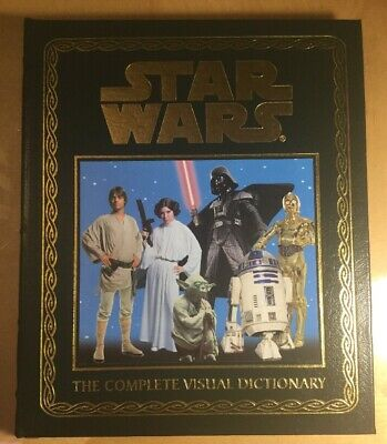 The Visual Dictionary of Star Wars, Leather Bound Book