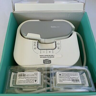 BellaLite By Silk'n Professional Hair Removal At Home EUC Includes 2 Cartridges