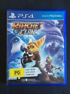 Ratchet And Clank - PS4 Playstation 4 - Very Good Condition