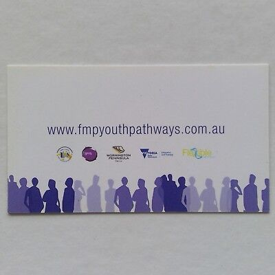 FMP Youth Pathways Business Card
