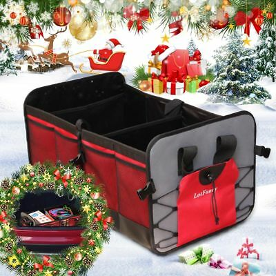 NEW Car Trunk Organizer - Storage with Straps by Drive Auto Products Foldable
