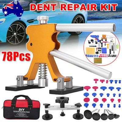 78× Paintless Hail Removal PDR Tools Dent Puller Lifter Line Body Remover Kit AU